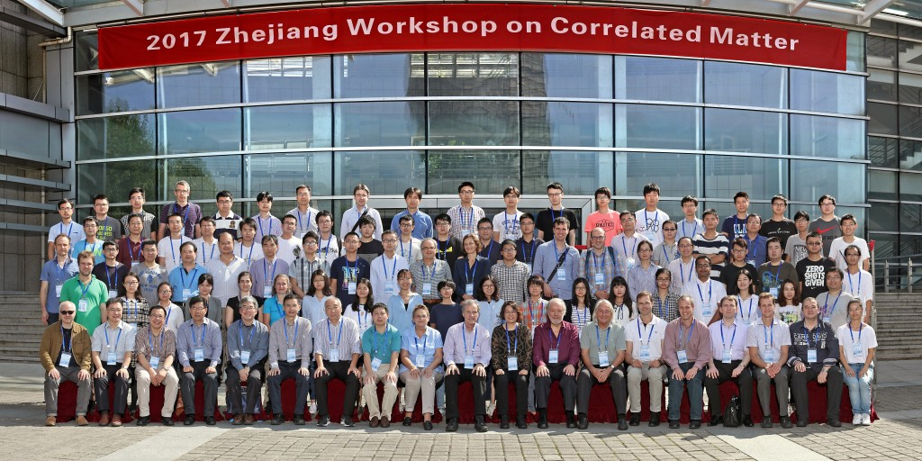 2017 Zhejiang Workshop on Correlated Matter