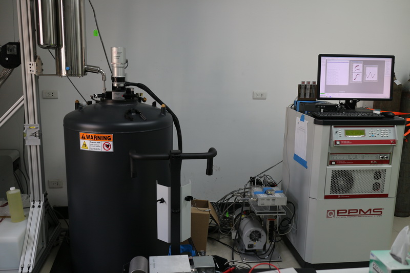 Physical properties measurement system