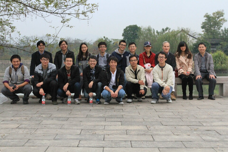 Group Photo in Xixi Wetland Park